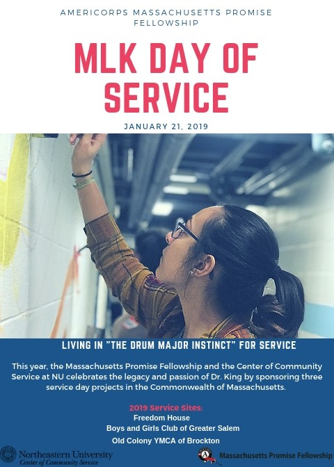 Mlk Day Of Service 2019 For Website