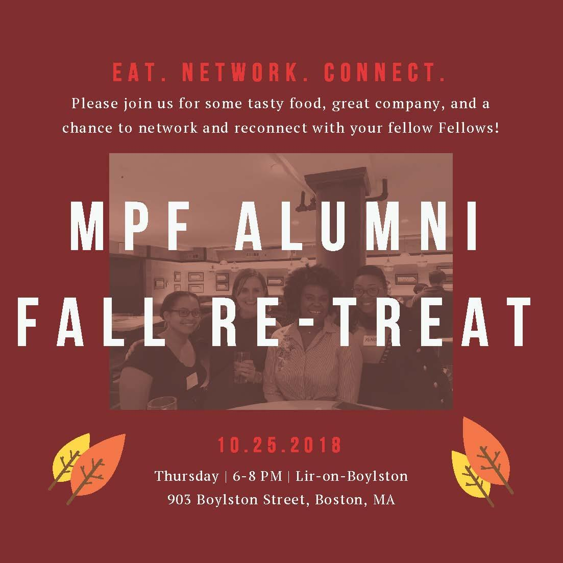 2018 Alumni Re Treat Invite 1