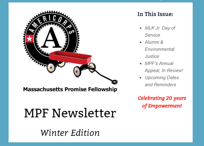 Winter Newsletter